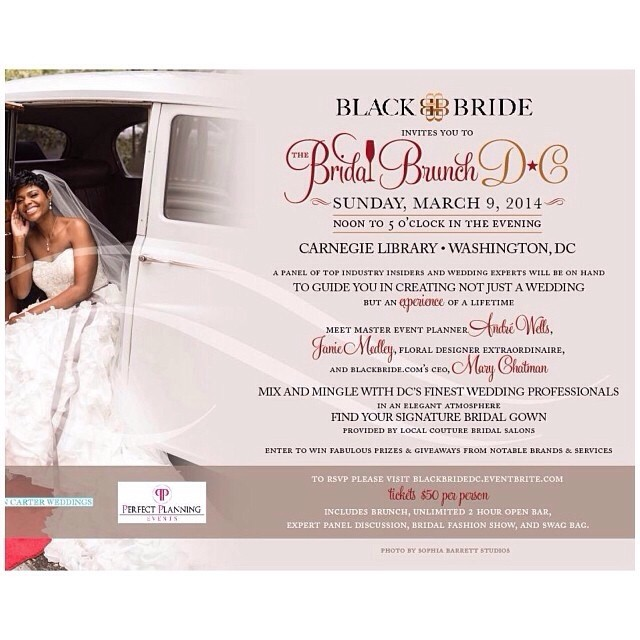 The Bridal Brunch DC Flyer