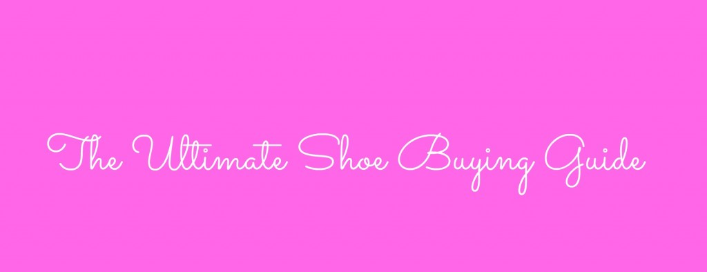 shoe buying guide