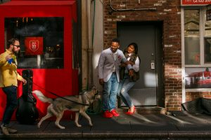 Engagement Session: Fun in the city