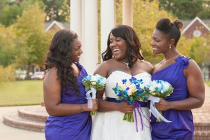 Real wedding from the pretty brown bride