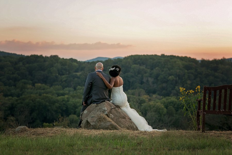 Real Wedding: Love at Angel Share's farm in Frederick, MD