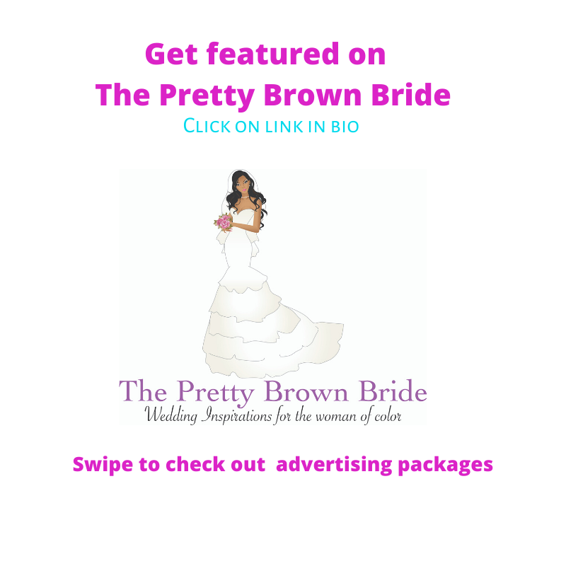 Get Featured on The Pretty Brown Bride